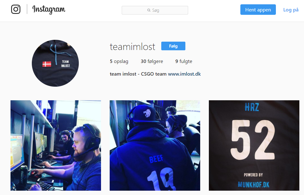Social Media: Follow us on Instagram!